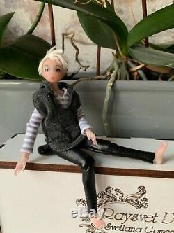 1/12 ooak artist bjd Raysvet Doll 16 cm heidi ott pippa zjakazumi size