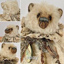 10 Shabby Mohair Artist Bear by Wendy Meagher of Whendi's Bears OOAK Creation