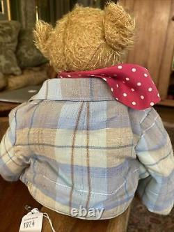 13 OOAK Artist Bear by Eva & Gunter Dufeu'Dufeu teddy bear Original Tag