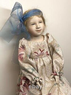 15 Artist OOAK Porcelain Doll By Jennie Dear Merran Beautiful Blonde Girl #L