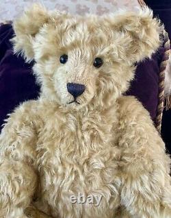 18 Mohair Artist Teddy Bear'Arthur' by Kathleen Wallace of Stier Bears OOAK