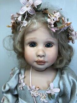 19 OOAK Artist Doll Porcelain Limited Nina By Tine Laene Luijken Signed COA