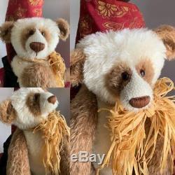 21 Mohair Artist Panda Bear Ollie by KATE BERLIN - c. 1997 RARE HTF