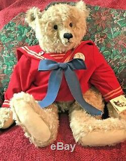 22 + 10 OOAK Mohair Artist Bears by Pat Murphy -'Willow' and'Amon