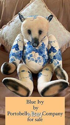 22 Artist OOAK Teddy Bear by Amy Goodrich of Portobello Bear Co. An Early Piece