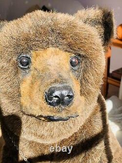 23x 18x 20 Mohair Realistic Bear Cub OTTO by Michael J. Woessner