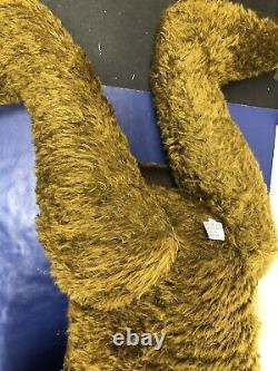 26 OOAK Mohair Brown TeddyBear Emma by Heidi Steiner Handmade With COA Tag #L