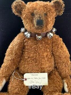 27 Mohair Artist Teddy Bear by Terry John Woods -'Tractor' of Blackwoods Design