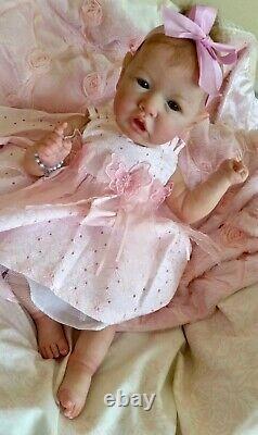 A CUSTOM REBORN BABYAward Winning Artist & Art Doll SASKIA by Priscilla Anne