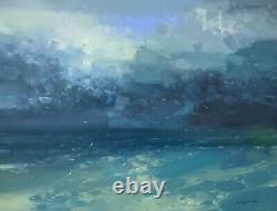 After Storm, Original Oil painting Large Handmade artwork One of a kind