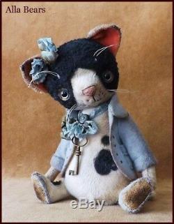 Alla Bears 7.5 artist Old art doll OOAK cat decor Japan Anime pet