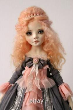 Artist OOAK doll Peach