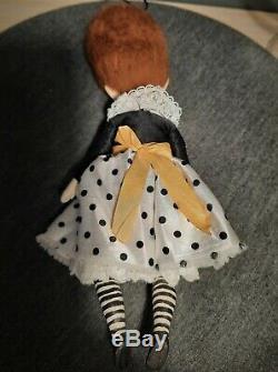 Artist OOAK doll pendant Mimi