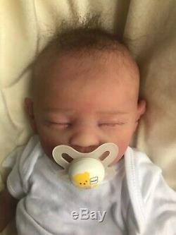 Artist Painted High Quality Silicone Baby With Cloth Body