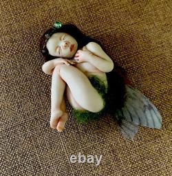 Artist Sleeping Fairy Sculpture Designed By Jacky Orlandos