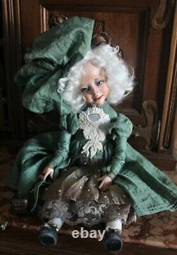 Artist author's OOAK doll Germaine