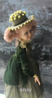 Artist author's OOAK doll Mimosa