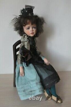 Artist author's doll Huguette OOAK