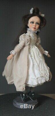 Artist ooak doll Fabienne