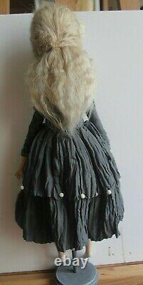 Author's artist OOAK doll Francoise