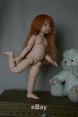 BJD Doll OOAK Limited 15 cm Artist Doll by Varvara Liutik