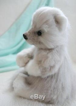 Baby Arctic fox Yuki OOAK