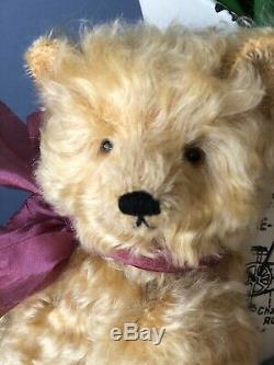 Bear Rhymes artist teddy bear Clementine, OOAK Bear