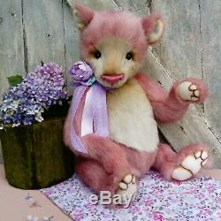 Berry Belle Coco and Clare Handmade bear Ooak collectors bear Artist Bear 21