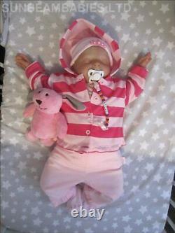 Born Toddler Doll 8lbs Bountiful Baby Girl By Artist 7yrs Dan Sunbeambabies 22