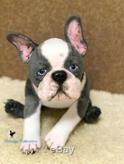 Boston terrier Puppy/dog 18,5 in(47 cm) realistic toy