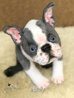 Boston terrierPuppy/dog 16,5 in(42 cm) realistic toy