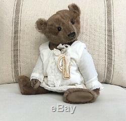 Charming Antique Style OOAK Handmade Mohair Teddy Bear By Vivianne Galli Eve