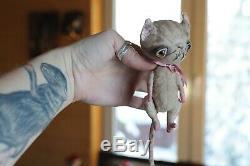 Creepy art bjd doll animal CAT plush Poseable kitten