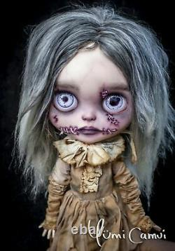 Custom Blythe Doll OOAK Blythe Artist Doll by Yumi Camui Mutilated Mabel