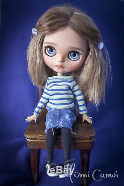 Custom Blythe Doll OOAK Blythe artist doll by Yumi Camui