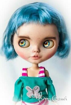 Custom Blythe Doll OOAK Takara Blythe artist doll by Manndolls Arina Mann