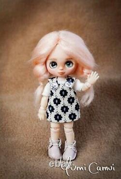 Custom Doll OOAK repaint Petite Blythe artist doll by Yumi Camui