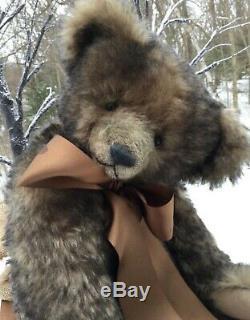 Daria Ivkina Russian Teddy Bear Artist Oliver One-Of-A-Kind