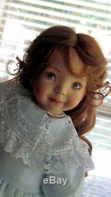 Dianna Effner Porcelain Doll artist doll 15'