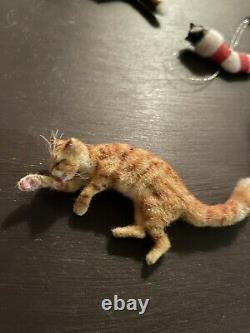 Dollhouse miniatures 112 artist offerings ooak cat