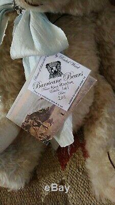 Fabulous 18 Super Soft Mohair Barricane Bear, OOAK, Alby Heanton 2011