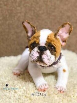 French Bulldog Puppy/dog 11,8 in(30 cm) realistic toy