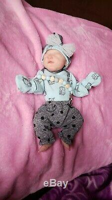 Full Body 9 L 12 oz Weight Silicone Baby Girl by the Amazing Artist Jenny Jill