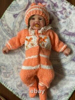 Full body silicone baby by Russian artist 10 inches