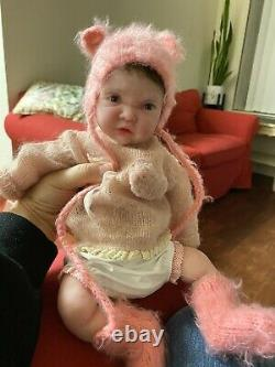 Full body silicone baby by Russian artist