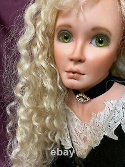 Karen Blandford Alderson Original Porcelain Artist Doll Angeline Blonde LE 2/10