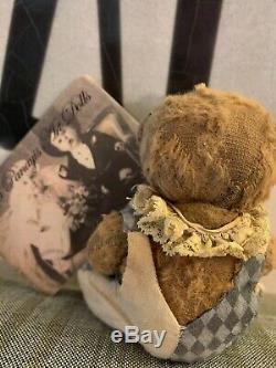 Katya Panayis ArtDolls OOAK artist bear