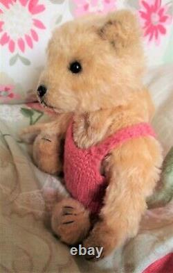 Kaz (Karen Brentnall) Artist Bear 7.5 mohair, Winnie witht