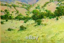 Landscape Oil Painting, Large Size, Canvas Handmade Artwork One of a Kind Signed