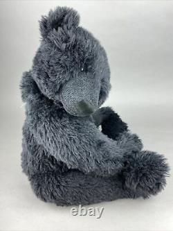 Large Conradi Creations OOAK Black Mohair Teddy Bear Nigel Hughes 66cm